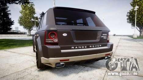 Range Rover Sport Kahn Tuning 2010 für GTA 4 hinten links Ansicht