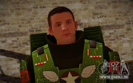 Space Ranger from GTA 5 v3 pour GTA San Andreas troisième écran