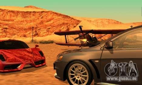 ENB Series pour les faibles PC 2.0 pour GTA San Andreas quatrième écran