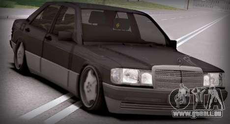Mercedes-Benz 190E pour GTA San Andreas