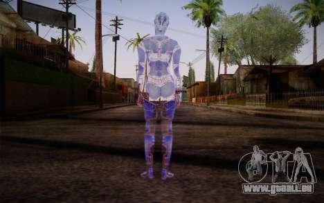 Avina from Mass Effect pour GTA San Andreas deuxième écran