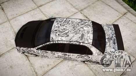 Mitsubishi Lancer Evolution IX Sharpie pour GTA 4 est un droit