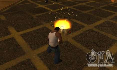 Yellow Effects pour GTA San Andreas deuxième écran
