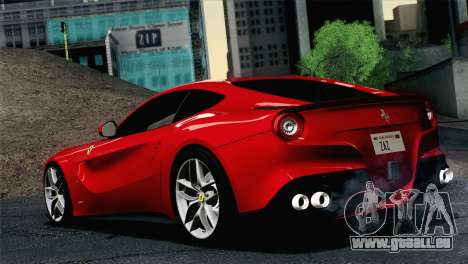 Ferrari F12 Berlinetta 2013 pour GTA San Andreas laissé vue