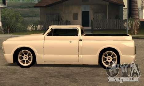 Beta Slamvan für GTA San Andreas Rückansicht