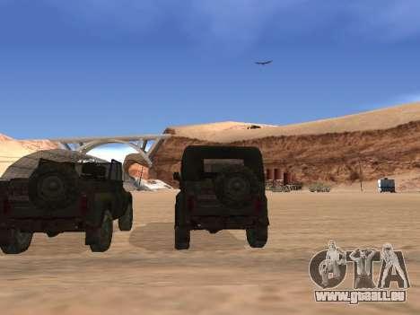 UAZ 3151 (CoD 4 MW) für GTA San Andreas rechten Ansicht