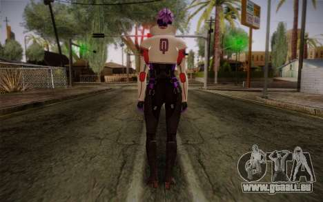 Halia from Mass Effect 2 für GTA San Andreas zweiten Screenshot
