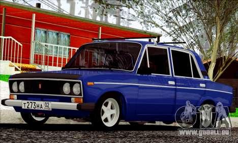 ВАЗ 2106 à la russe pour GTA San Andreas laissé vue