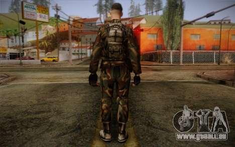 Soldier Skin 1 pour GTA San Andreas deuxième écran