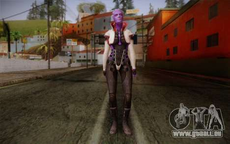 Halia from Mass Effect 2 für GTA San Andreas