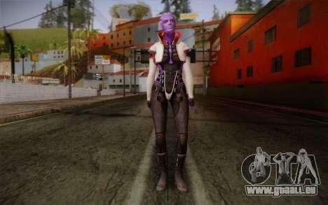 Halia from Mass Effect 2 für GTA San Andreas