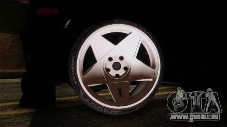 Perodua Kancil L2s v0.2 pour GTA San Andreas sur la vue arrière gauche