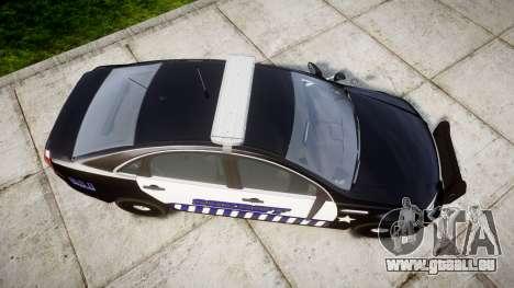 Chevrolet Caprice 2012 Sheriff [ELS] v1.1 pour GTA 4 est un droit
