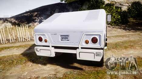 GTA III Patriot HD für GTA 4 hinten links Ansicht