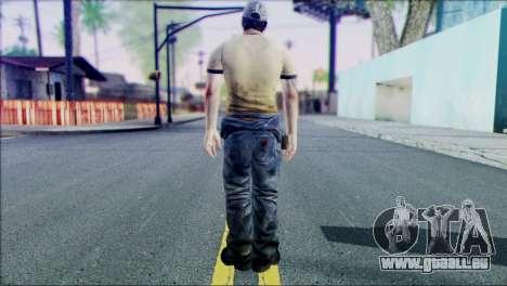 Left 4 Dead Survivor 6 pour GTA San Andreas deuxième écran