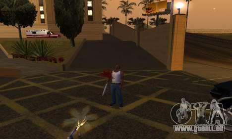 Yellow Effects pour GTA San Andreas troisième écran