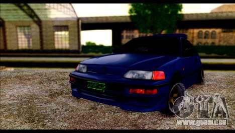 Honda CRX für GTA San Andreas