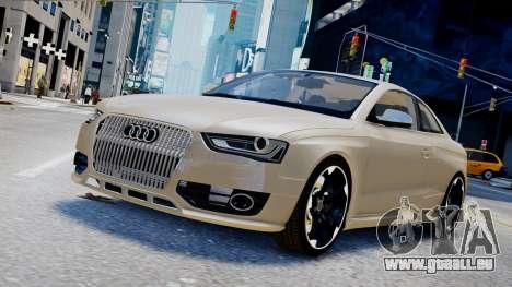 Audi RS4 B8 2013 v1 pour GTA 4