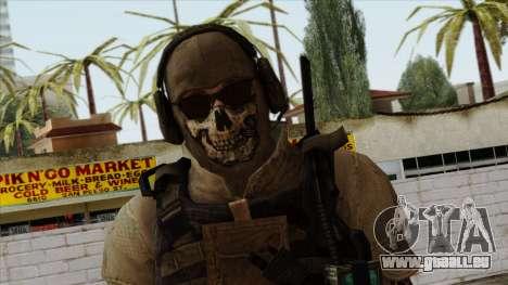 Modern Warfare 2 Skin 10 pour GTA San Andreas troisième écran