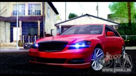 Mercedes-Benz S70 W221 pour GTA San Andreas