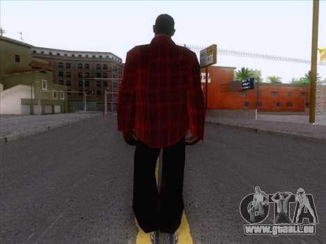 New Fam Skin 1 pour GTA San Andreas deuxième écran