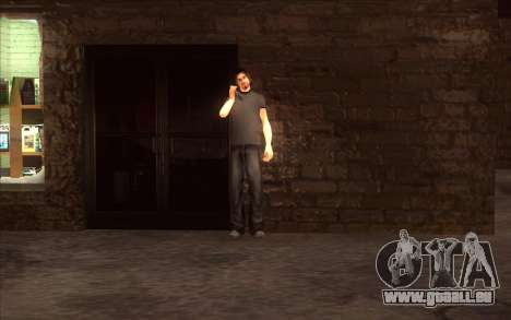 La relance du village Dillimore pour GTA San Andreas deuxième écran