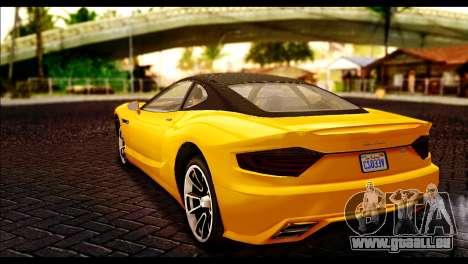 GTA 5 Hijak Khamelion pour GTA San Andreas laissé vue