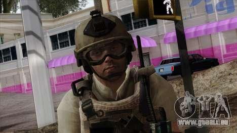 Modern Warfare 2 Skin 19 pour GTA San Andreas troisième écran