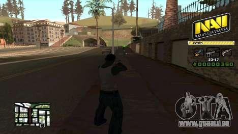 C-HUD NaVi für GTA San Andreas dritten Screenshot