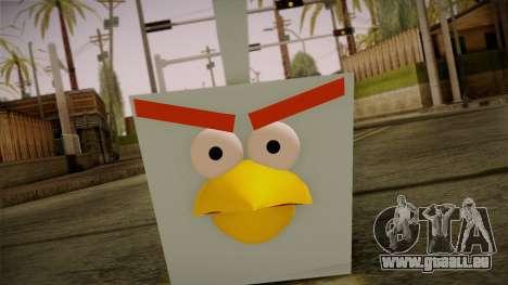 Ice Bird from Angry Birds pour GTA San Andreas troisième écran