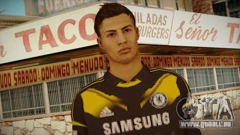 Footballer Skin 3 pour GTA San Andreas troisième écran