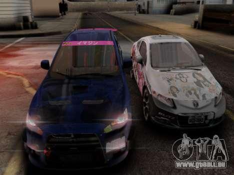 ENB Hans Realistic 1.0 für GTA San Andreas her Screenshot