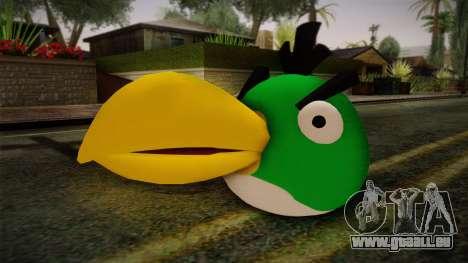 Green Bird from Angry Birds für GTA San Andreas
