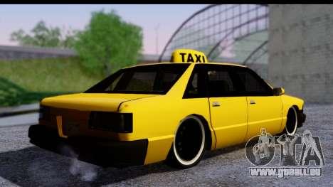Slammed Taxi pour GTA San Andreas laissé vue