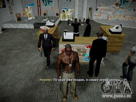Système vols v4.0 pour GTA San Andreas onzième écran