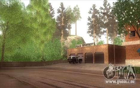 La relance du village Dillimore pour GTA San Andreas quatrième écran