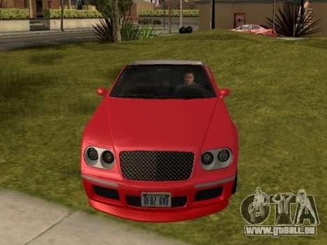 Cognoscenti Cabrio pour GTA San Andreas vue de droite