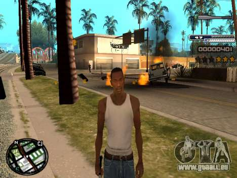 CLEO HUD Spiceman pour GTA San Andreas