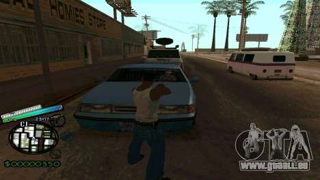 C-HUD New Style für GTA San Andreas dritten Screenshot