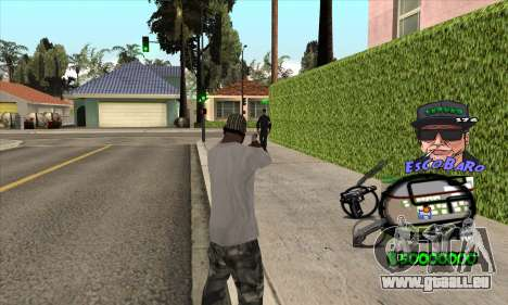 C-HUD by Travis Escobaro and Matthew Escobaro für GTA San Andreas zweiten Screenshot