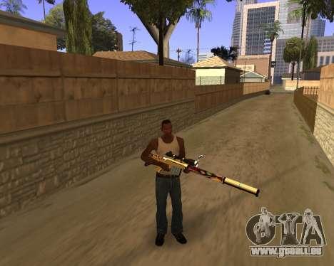 Graffity Weapons pour GTA San Andreas deuxième écran