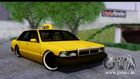 Slammed Taxi pour GTA San Andreas