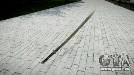 Schwert-Yamato- für GTA 4
