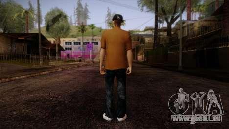 Gedimas Omyst Skin HD pour GTA San Andreas deuxième écran