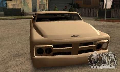 Beta Slamvan für GTA San Andreas linke Ansicht