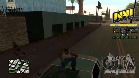 C-HUD NaVi für GTA San Andreas her Screenshot