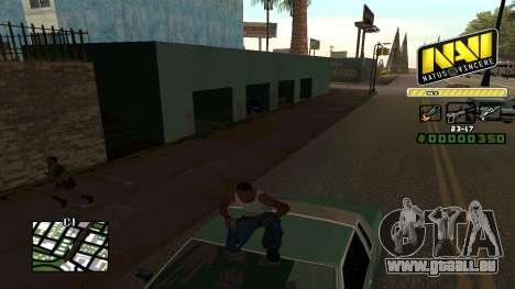 C-HUD NaVi pour GTA San Andreas quatrième écran
