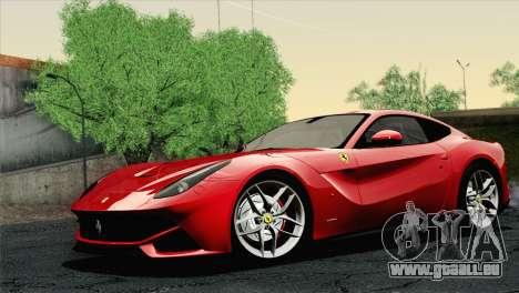 Ferrari F12 Berlinetta 2013 für GTA San Andreas