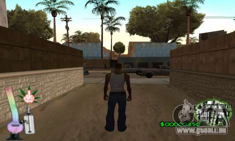 C-HUD Canabis pour GTA San Andreas