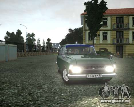 Isch 2125 Combi für GTA 4 Innenansicht